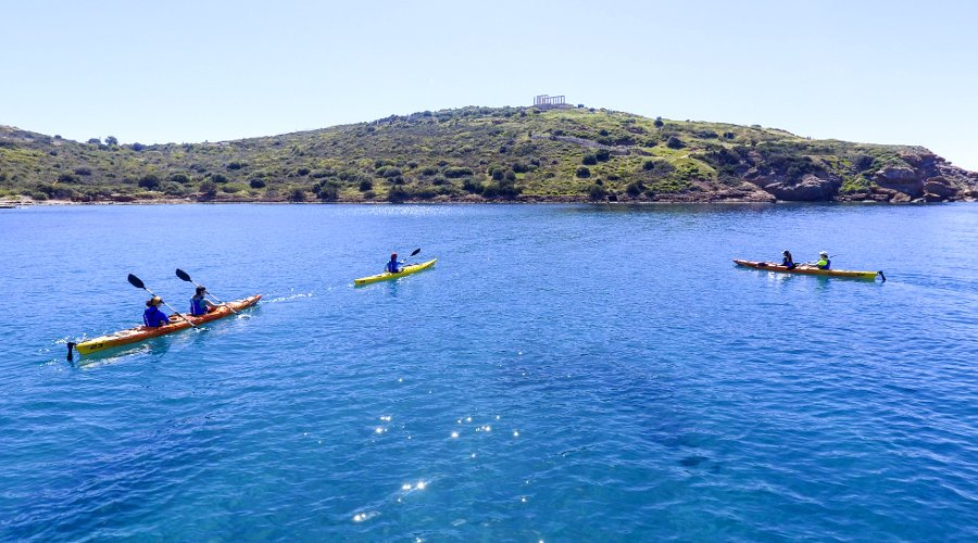 Sea Kayak at Sounion