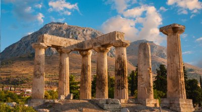 Ancient Corinth and the Canal