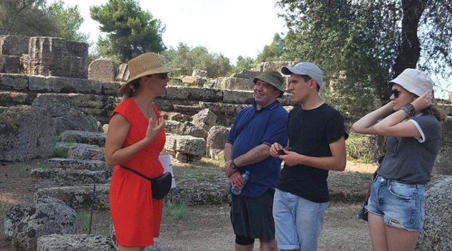 Small group tour of Olympia (site only)